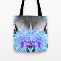 geode Tote Bags featuring Geode 1 by michiko_design