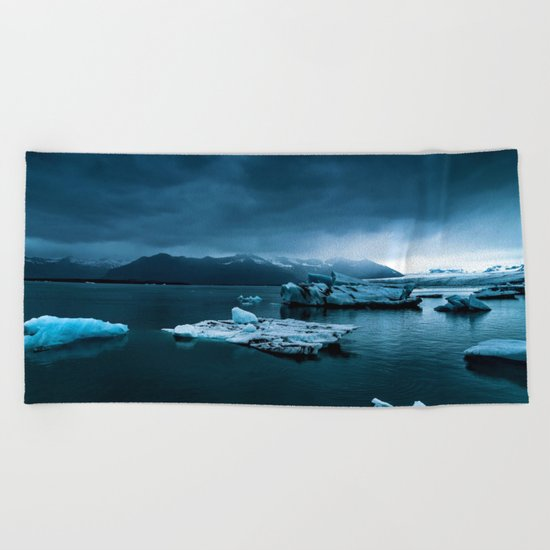 Blistering Cold Beach Towel