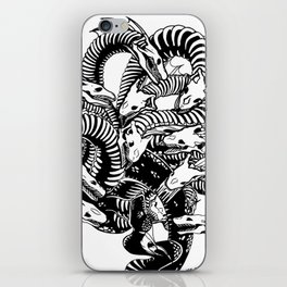Lonely Hydra iPhone Skin