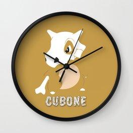 Cubone Wall Clock