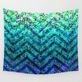 Zig Zag Sparkley Texture G230 Wall Tapestry