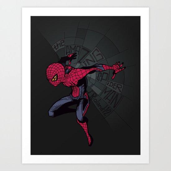 The Amazing Spider-Man: Mid-nite Art Print