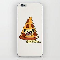 Pizza Pug iPhone Skin