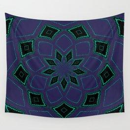 Shipibo Inspired Journey Tapestry Wall Tapestry
