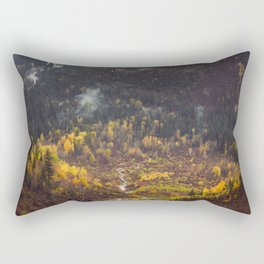 Glacier Valley Fall Rectangular Pillow
