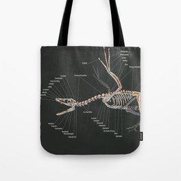 Microraptor Gui Skeletal Study Tote Bag