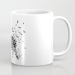 Save the Elephants fading away Coffee Mug