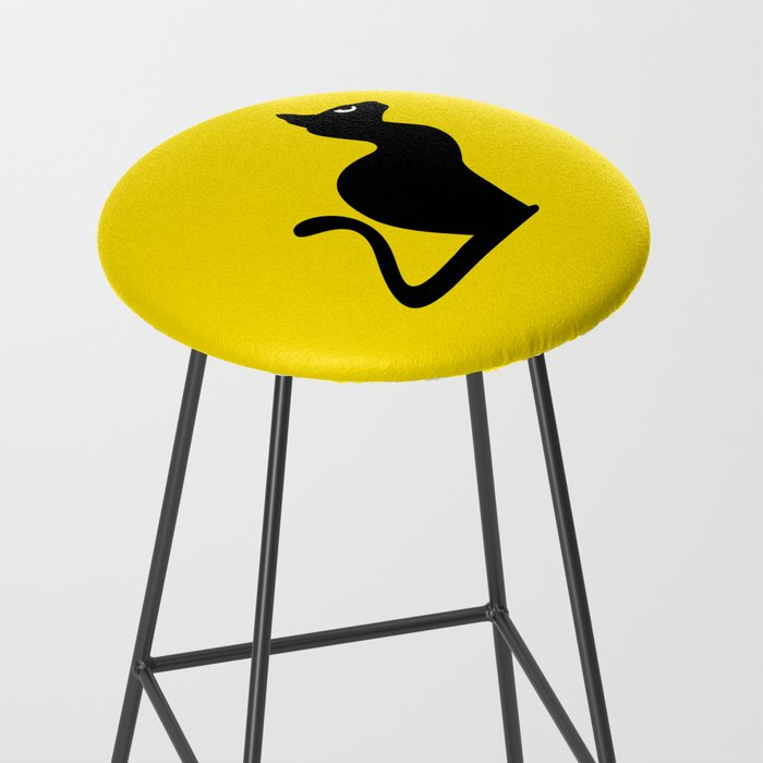 Angry Animals: Cat Bar Stool