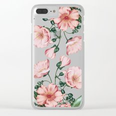 Calandrinia Clear iPhone Case