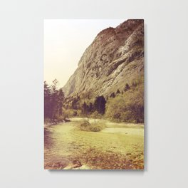 Back to the Roots Metal Print