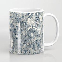 canadian animals indigo pearl Coffee Mug
