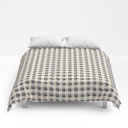 ANTHOLOGY OF PATTERN SEVILLE GINGHAM BLACK Comforters