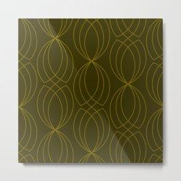 CROSS GREEN GRAPHIC DESIGN Metal Print