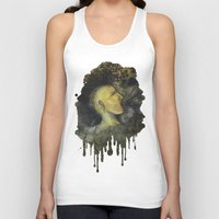 punk rock Tank Tops featuring Punk by Shellie Mix