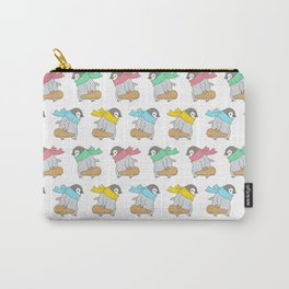 Penguin Violinist Carry-All Pouch