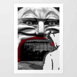 For Shame v2: Carnivale Art Print