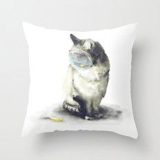 _all you need is in your head Throw Pillow