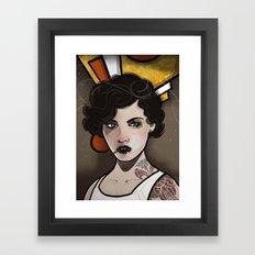 Moll. Framed Art Print