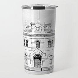Clunes Town Hall Drawing Travel Mug