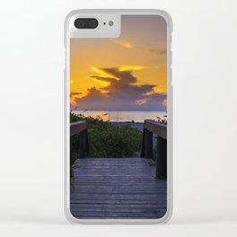 Florida 02 - World Big Beach Clear iPhone Case