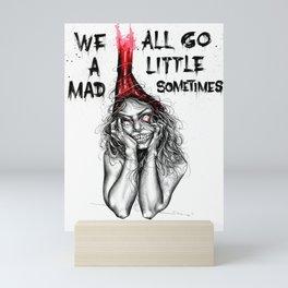 Mad inside Mini Art Print