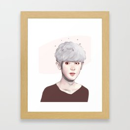EXO CHA Framed Art Print