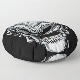Dummy Skull Floor Pillow