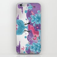 wedding iPhone & iPod Skins featuring Wedding by Olly Blake
