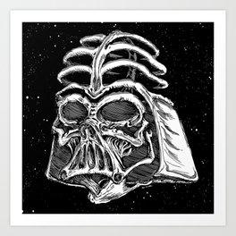 Dark Bones Art Print