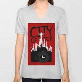City of God - Minimal Movie Fanart Alternative Unisex V-Neck