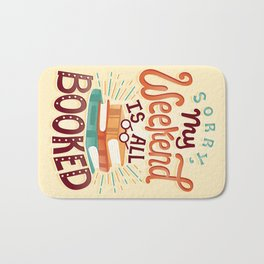 I'm booked Bath Mat