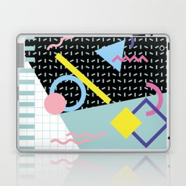 Memphis Pattern 6 - 80s - 90s - Retro Laptop & iPad Skin