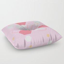 Hexagon Sweetarts Floor Pillow