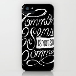 Quote of the day iPhone Case