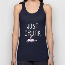 Just Drunk number 2 Unisex Tank Top