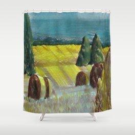 Harvest Field Shower Curtain