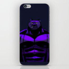 Killer Panther Wrestler! iPhone Skin