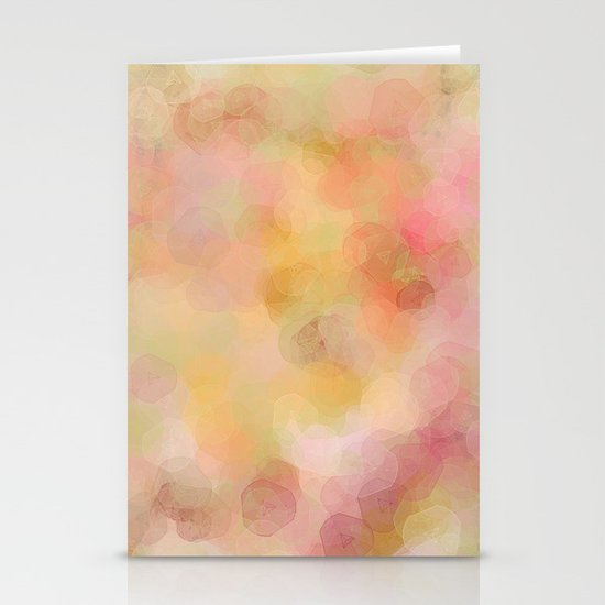 Colour Blur Stationery Cards