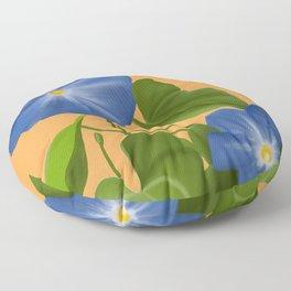 Morning Glory Floor Pillow