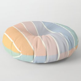 Gradient Arch - Rainbow III Floor Pillow