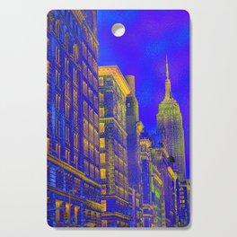 New York by Lika Ramati Cutting Board