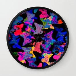 float like a butterfly 5 Wall Clock
