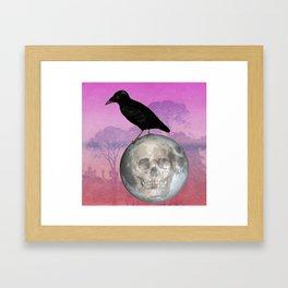 'Sit on my finger, sing in my ear, O littleblood.' Framed Art Print