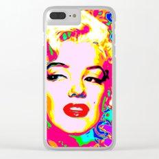 Marilyn - Colour Clear iPhone Case