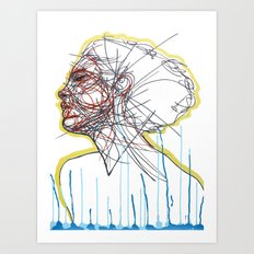 Sleep and a Forgetting Art Print