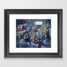 TV Framed Art Print