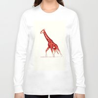 blush Long Sleeve T-shirts featuring Blush by Alex Spurrier