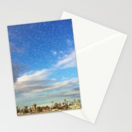 Landing in Las Vegas Stationery Cards