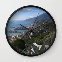 salernbo e la sua costa Wall Clock