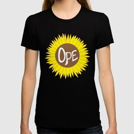 Hand Drawn Ope Sunflower Midwest T-shirt